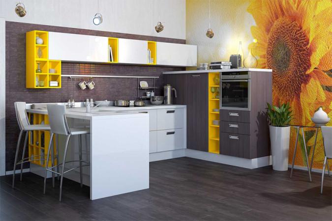 Кухня «Акрилика»