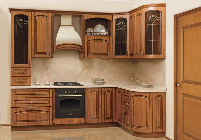 Кухня «Аркада (бархатная вишня)»