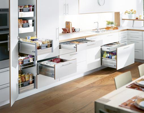«Умные» кухни Blum (Австрия)