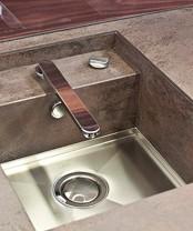 Врезные мойки CER-Sink Plus серии Metal
