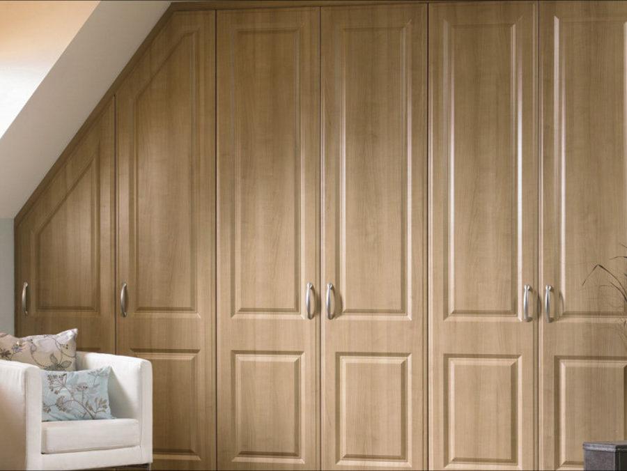 Шкаф «Скандинавия» — мансардный