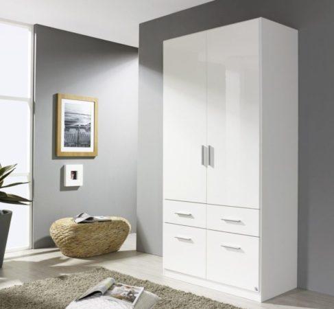Шкаф «Умка» — распашной шкаф с выдвижными полками