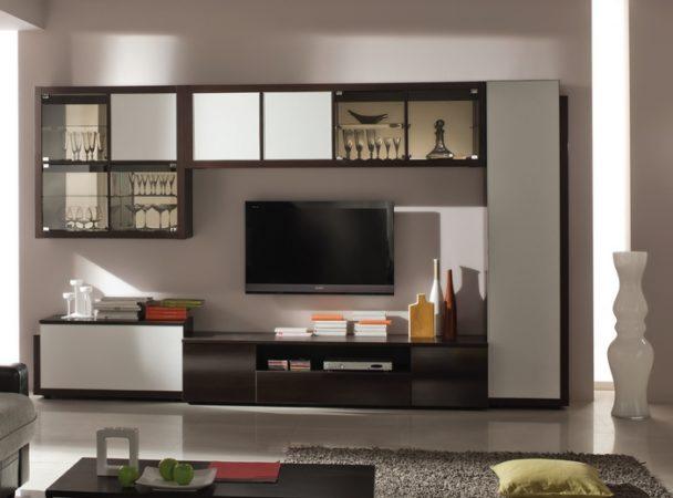 Гостиная модульная стенка «Индиго» — ультрасовременный гарнитур