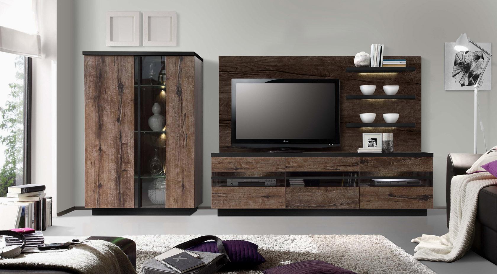 Мебель для гостиной «Шоколад»