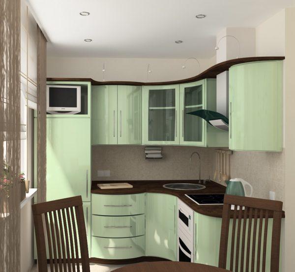 Кухня «Мята»