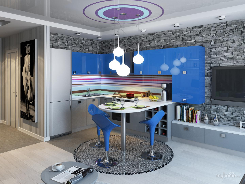 Кухня-студия «Flexy»