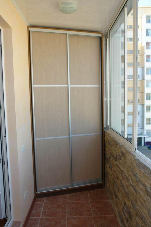 Шкаф на балкон «Люкс»