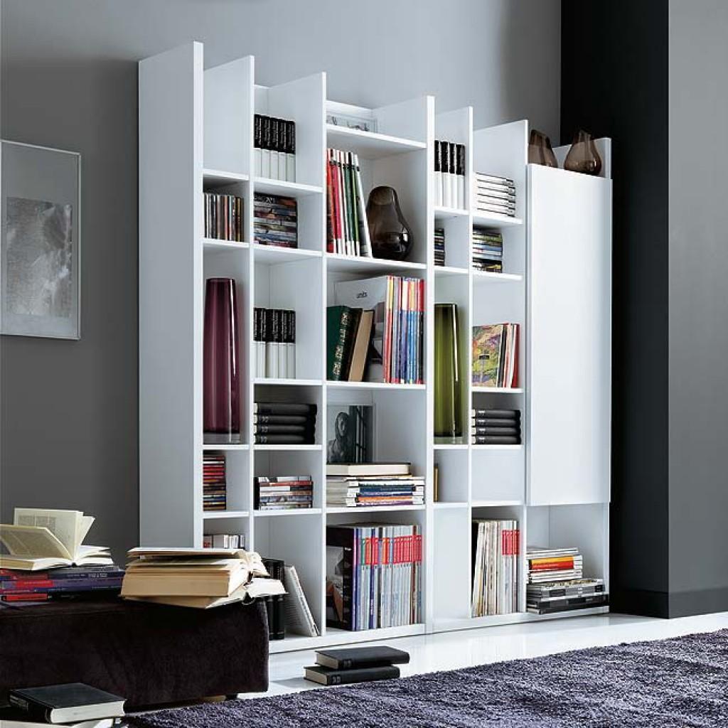 Книжные шкафы и библиотеки от фабрики мебиус - фабрика мебел.