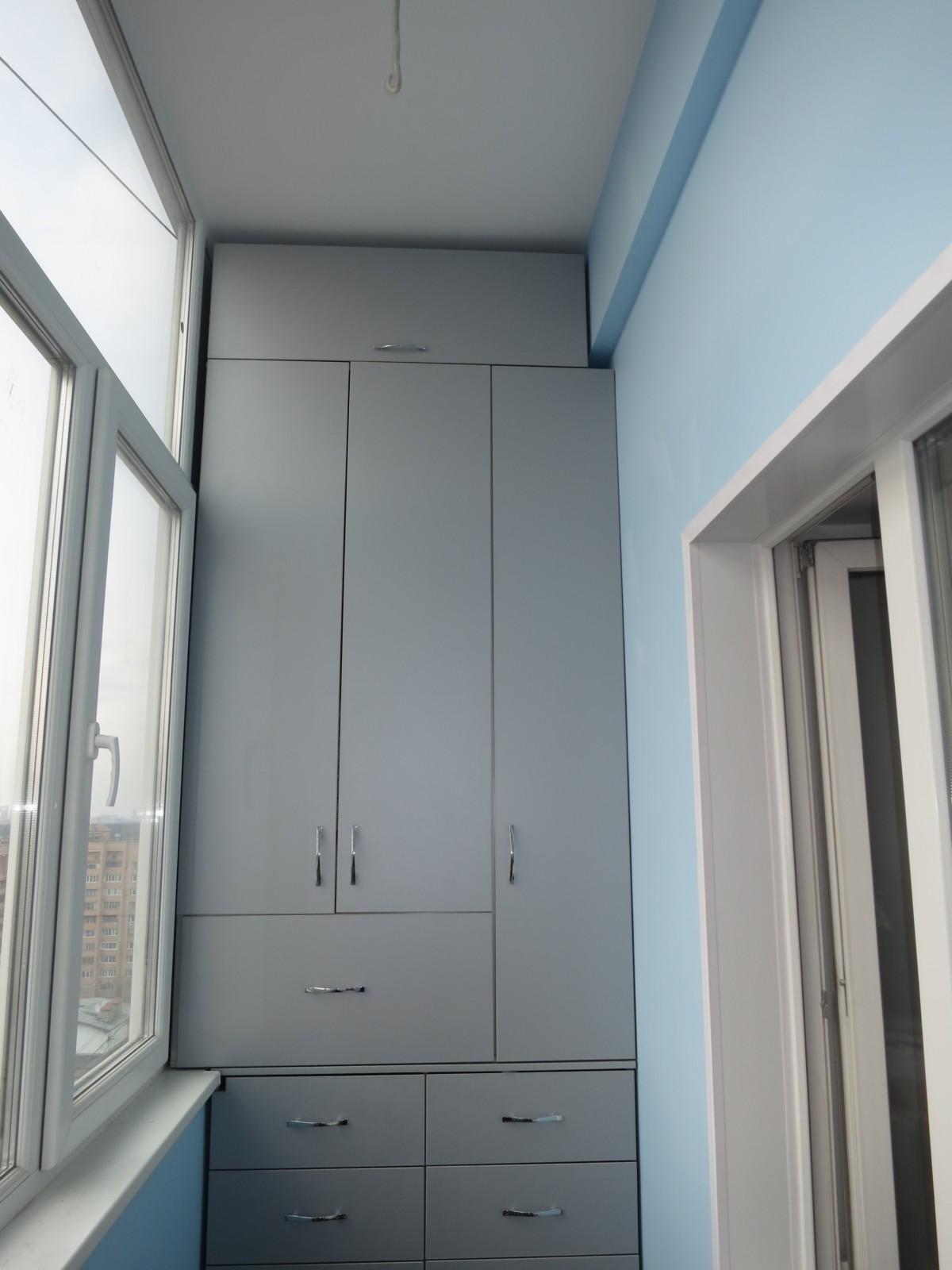 Шкаф на балкон «Прима»