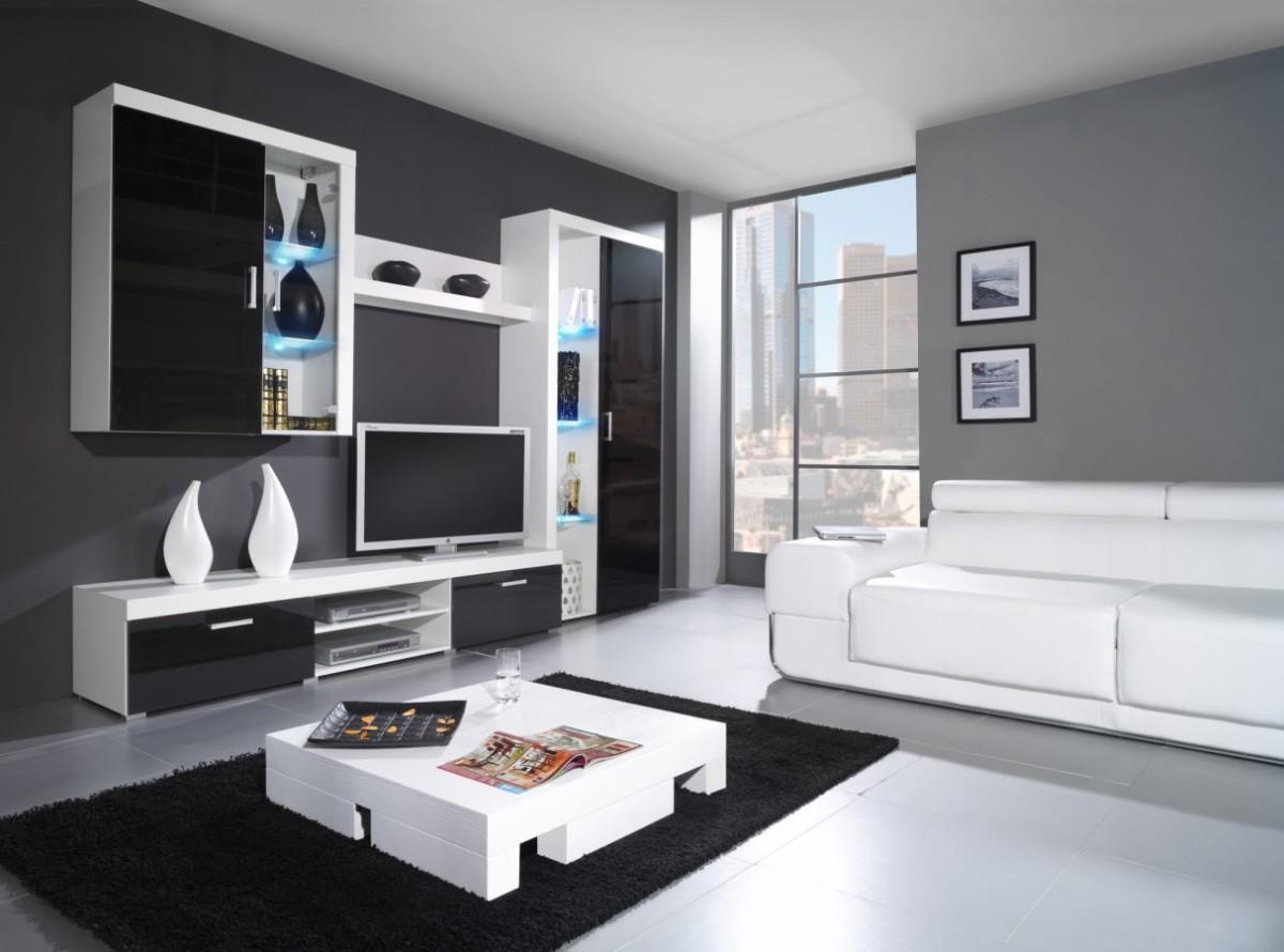 Шкаф-стенка «Черное&Белое»