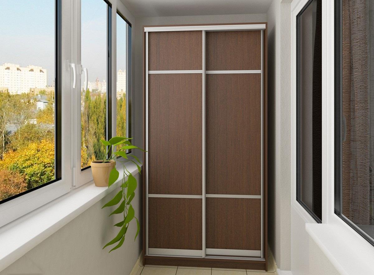 Шкаф на балкон «Корица»