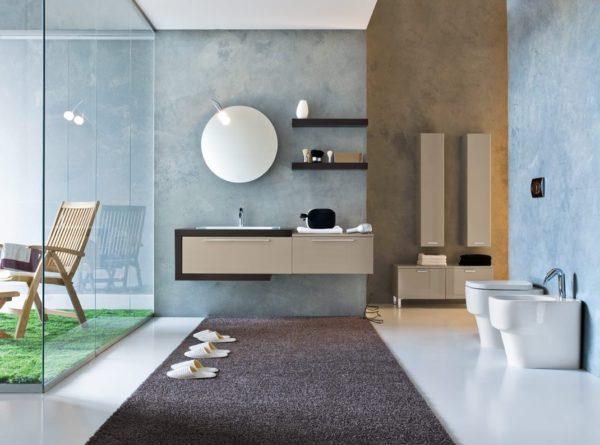 Мебель для ванной «Мокко»