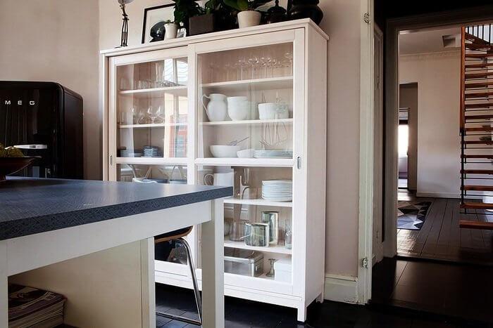 Шкаф для посуды «Milk»