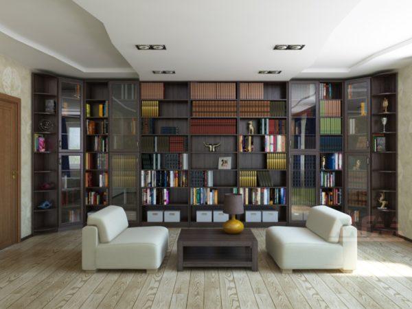 Мебель для библиотеки «Мадрид»