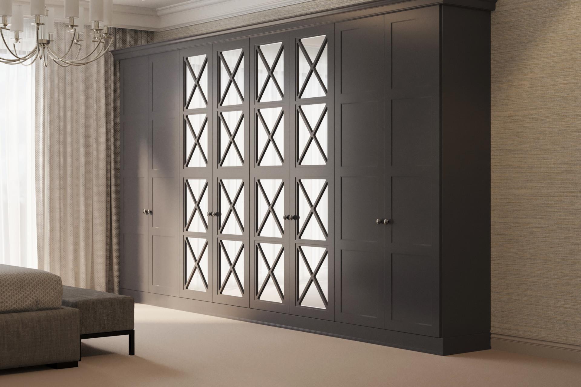 Шкаф «Нильс» с зеркальными фасадами