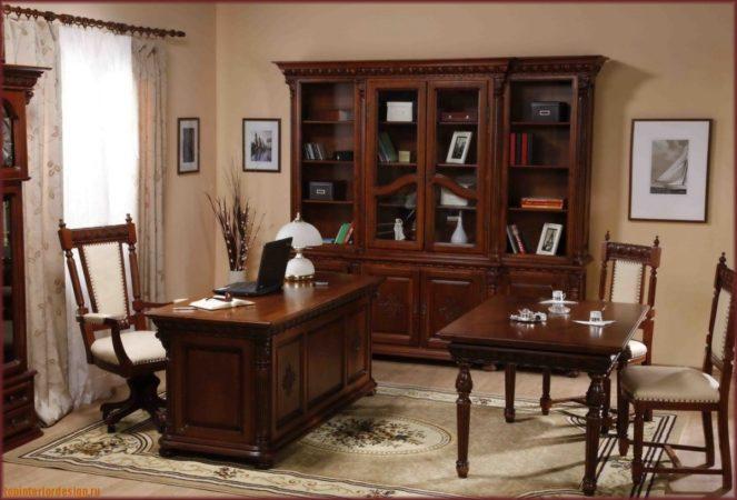 Мебель для кабинета «Богема»