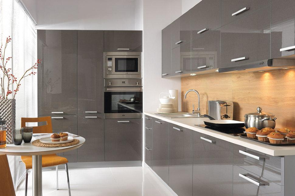 Кухня «Gray» — испанский пластик Alvic
