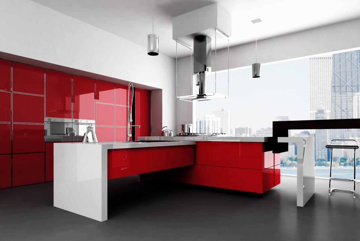 Кухня «Vogue» — ультра глянец ALVIC LUXE