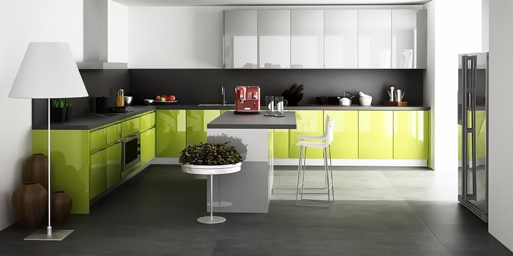 Кухня «Glow» — супер блеск ALVIC
