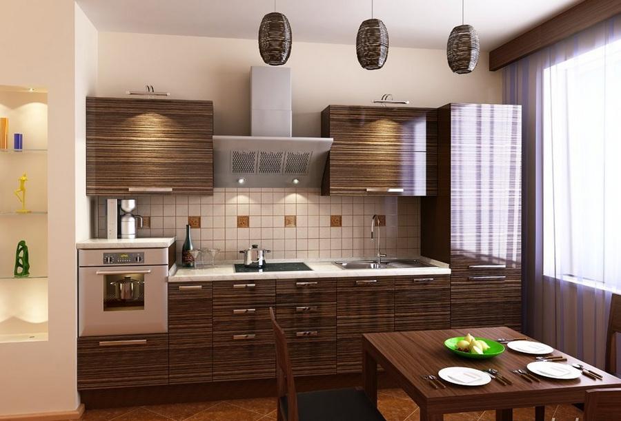 Кухня «Larch» в супер глянце Alvic