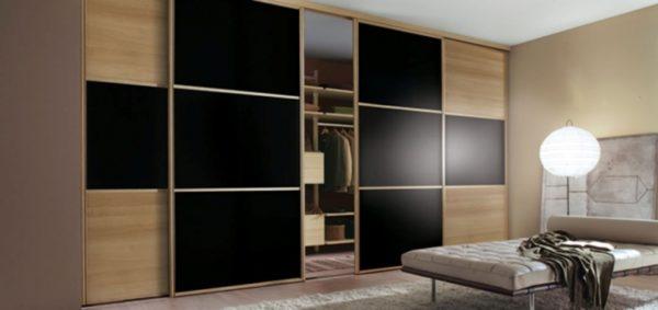 Встроенный шкаф «Соты»