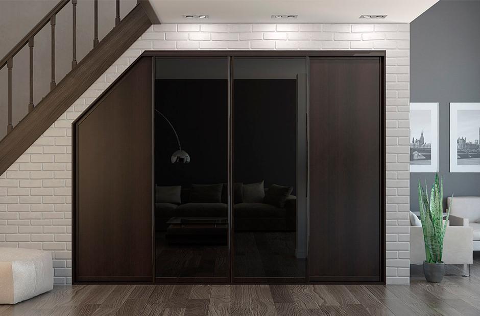 Мансардный шкаф «Клевер»