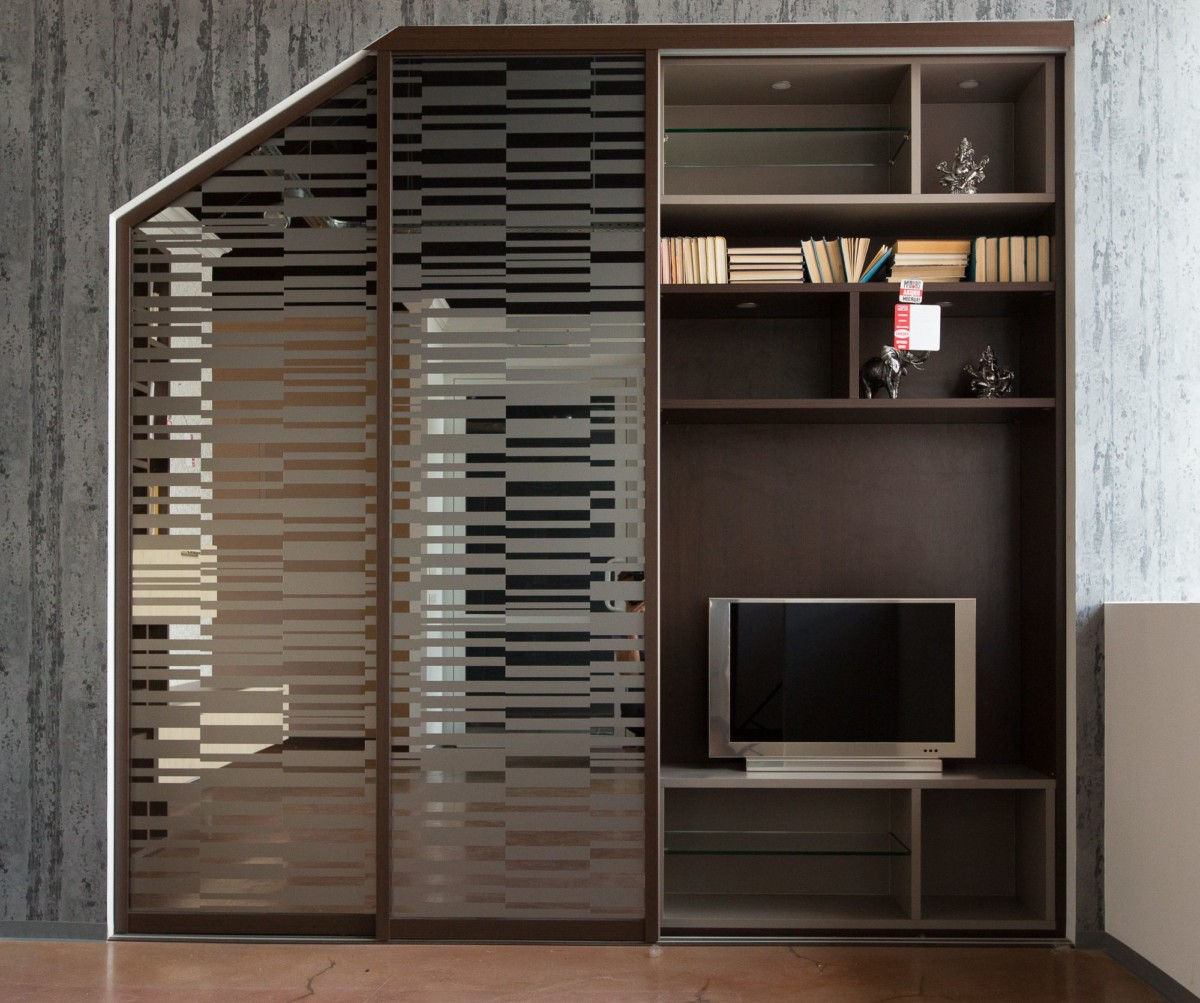 Мансардный шкаф «Лансье»