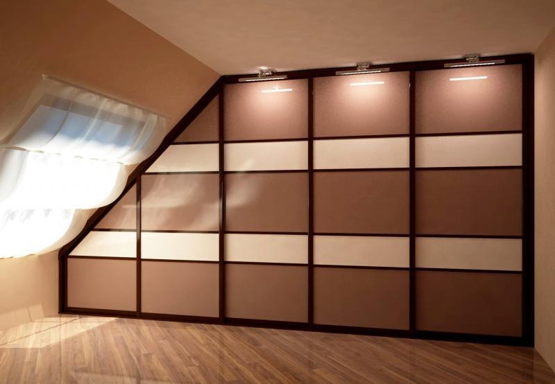 Мансардный шкаф «Фиджи»