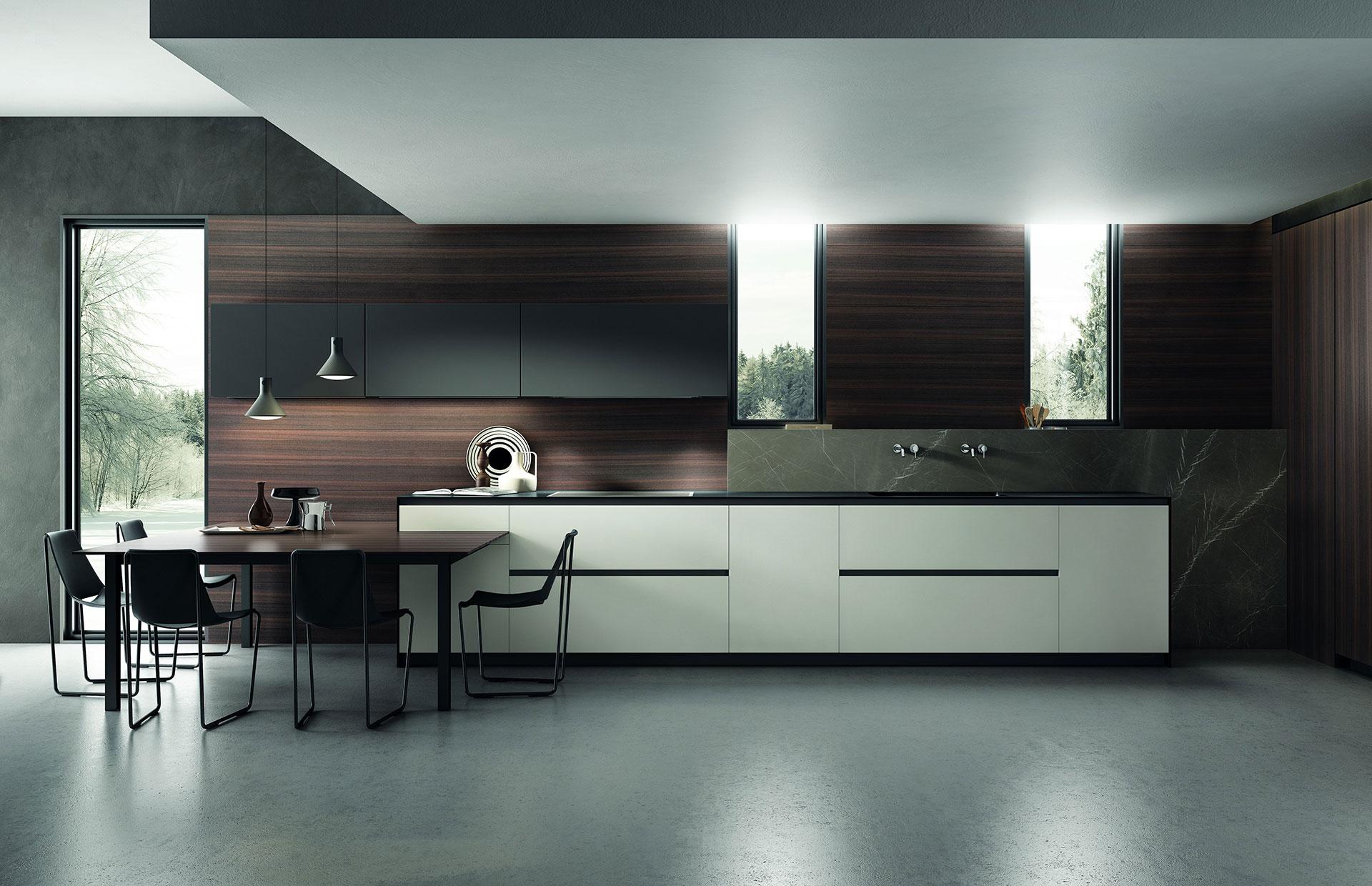 Кухня «Aria» для стильного эко интерьера