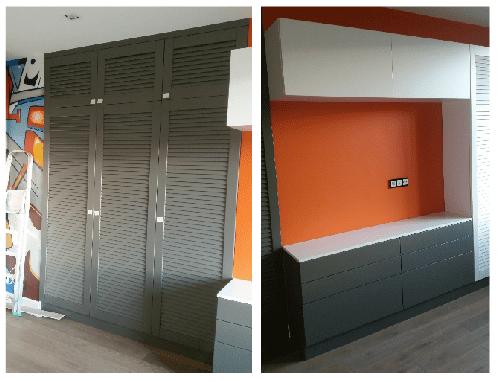 Мебельный комплект для яркого и динамичного интерьера