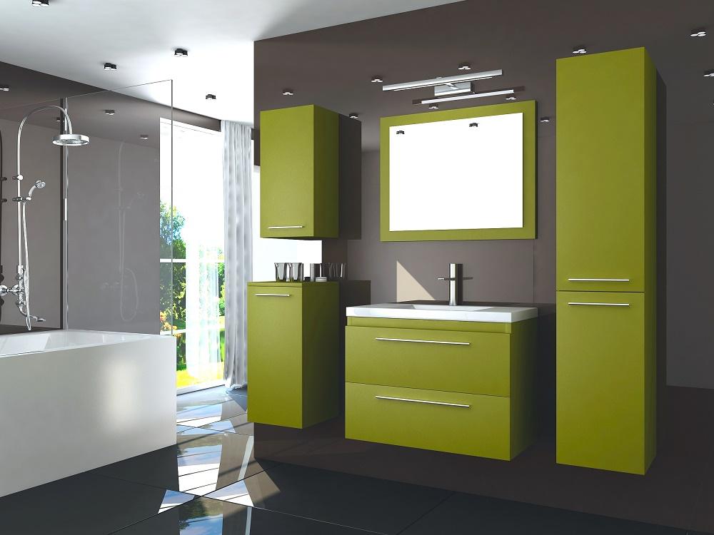 Шкаф для ванной «Лоритис»