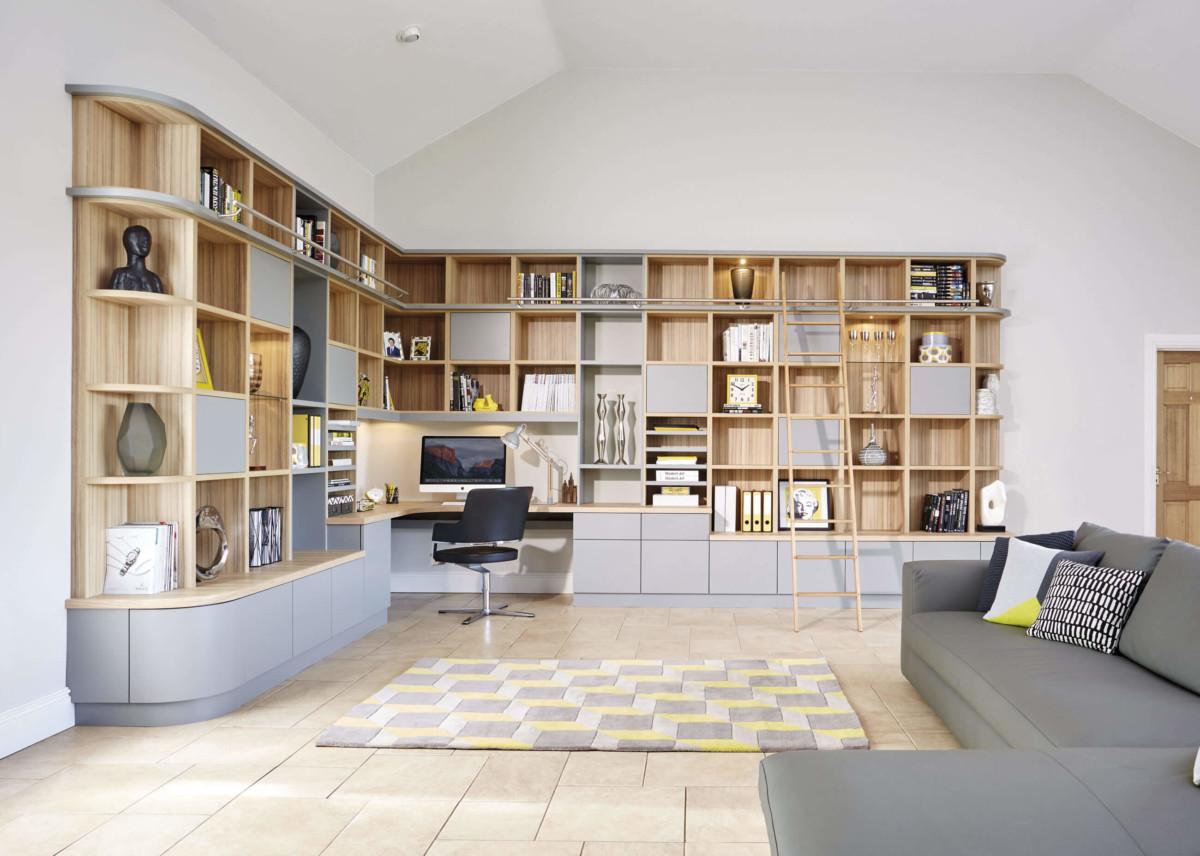 Библиотека с домашним кабинетом «Марпл»