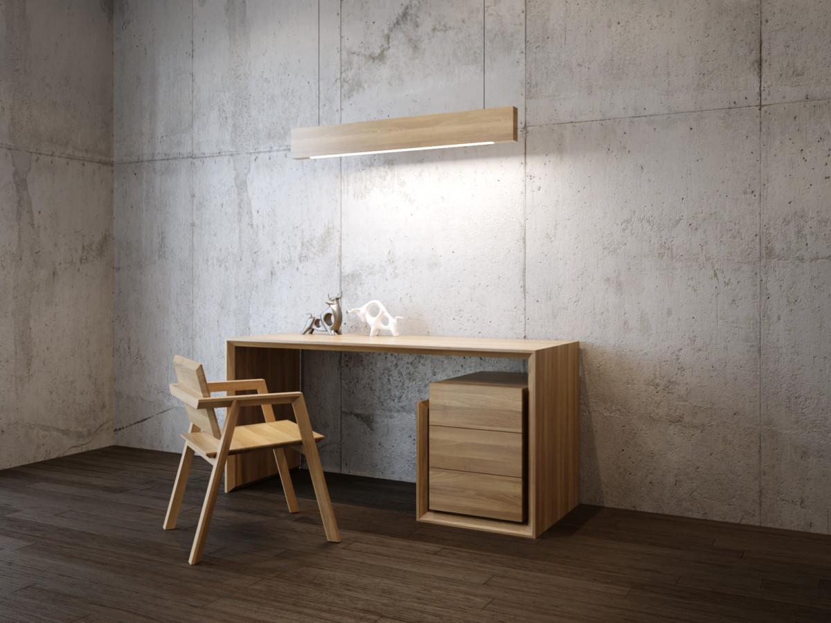 Дизайнерский стол в кабинет «Democritus»