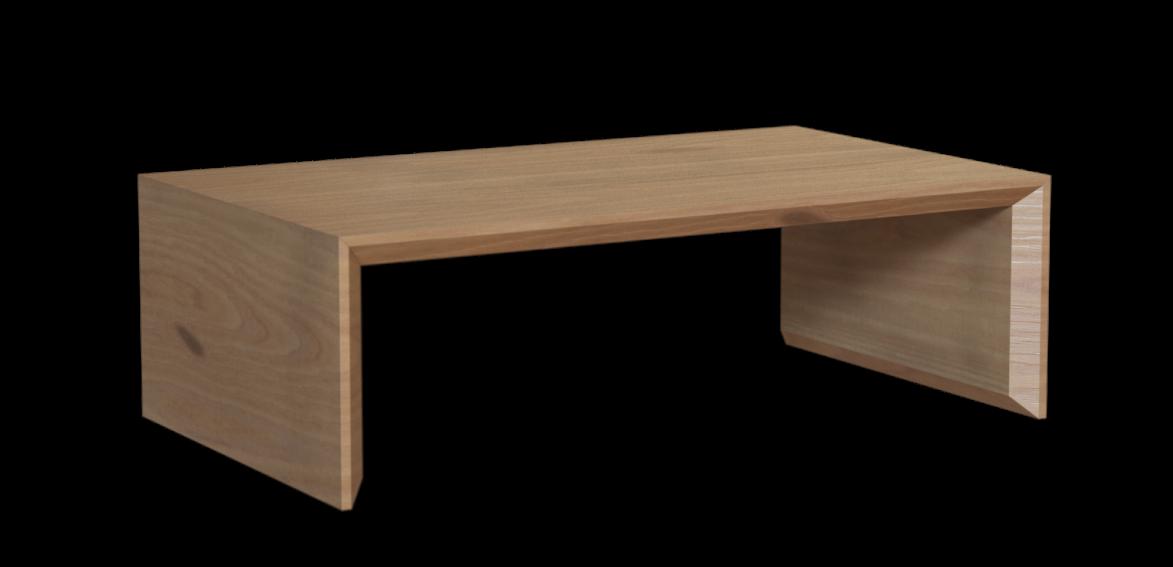 Журнальный столик из массива дуба «Plato»