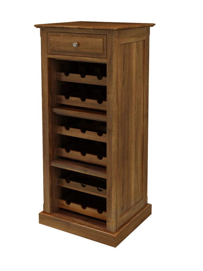Винный шкаф из массива дуба «Сомелье»