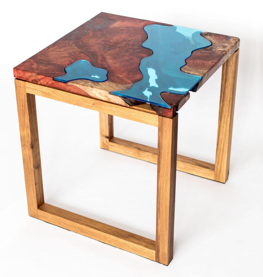 Кофейный столик из массива «Aкумэ»