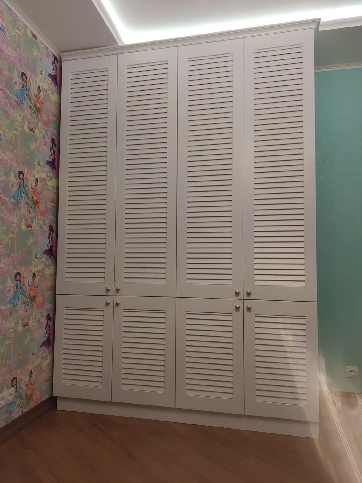Три шкафа в едином стиле для одной квартиры!