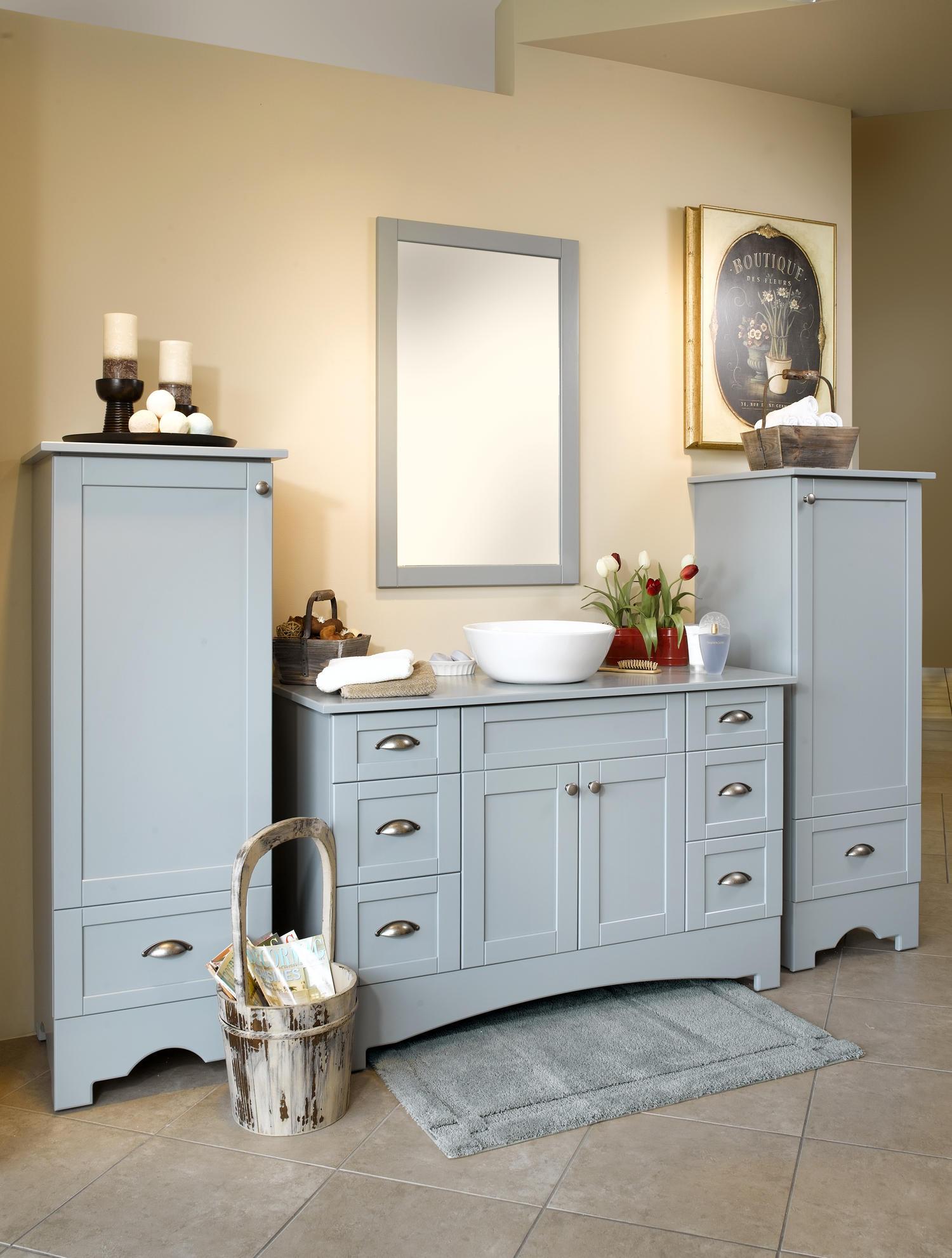 Мебель в ванную «Лимож»